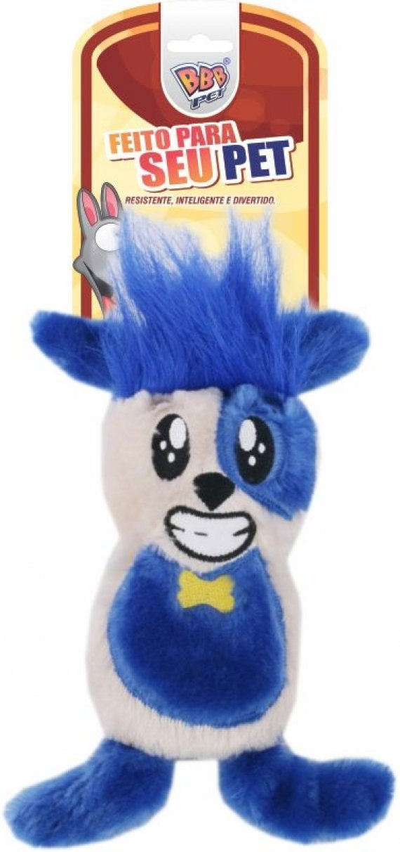 CRAZY RABBIT BLUE PLUSH