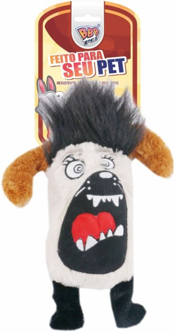 MONTER DOG BLACK PLUSH