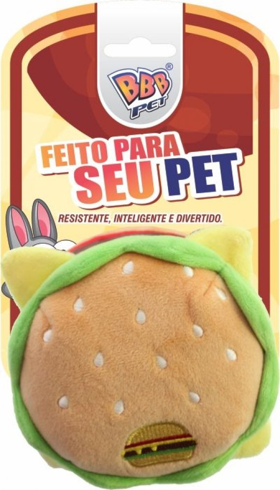 HAMBURGUER PLUSH PET