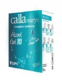 11112 - ALCOOL GEL 800ML 70 INPM BAG CALLAMARYS