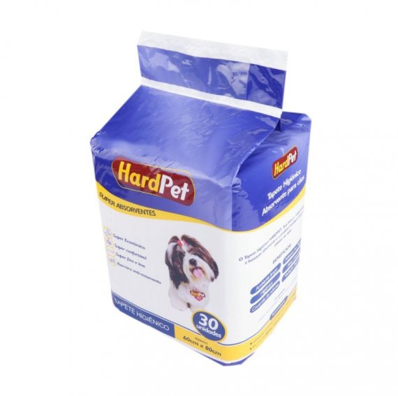 TAPETE HIGI HARD PET 60X80 30 UN