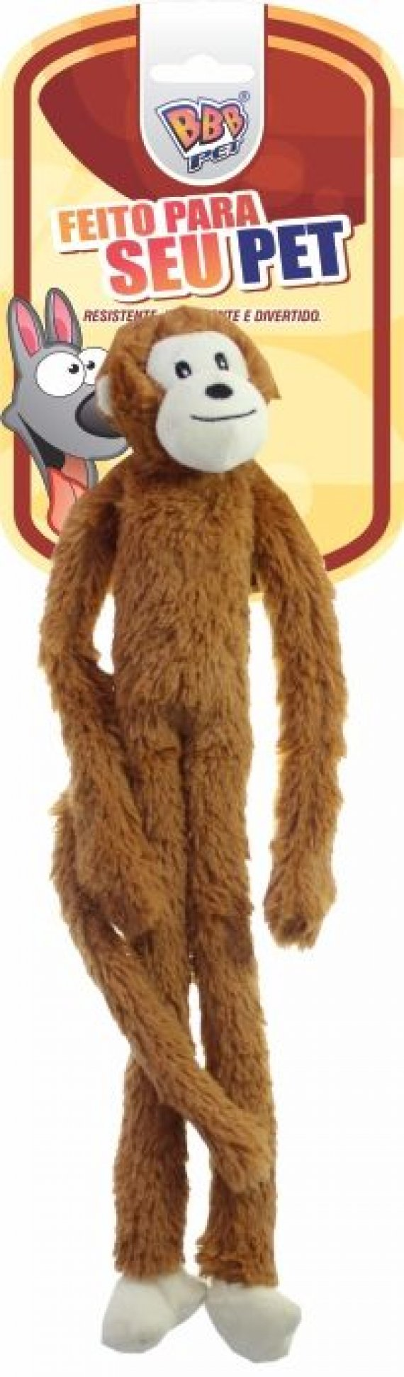 MACACO WISE  PLUSH PET