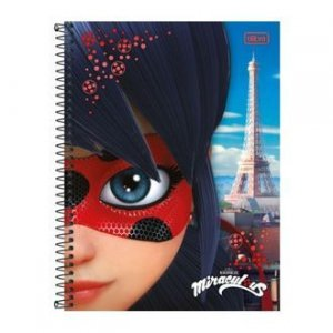 Caderno Cd Univer Miraculous 1M 96F