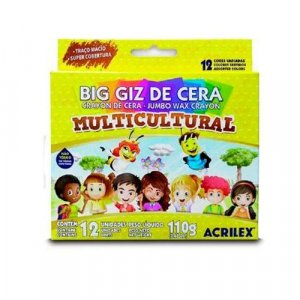 Big Giz de Cera Multi 12 Cores