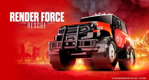 Render Force Rescue Caminhonete Resgate 1018