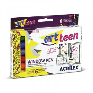 Window Pen 6 Cores