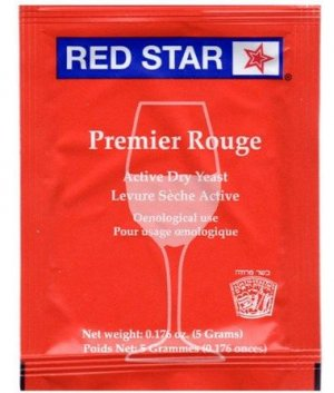 Levedura Red Star - Premier Rouge 11g