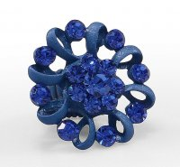 ANEL FLOR GRANDE Ref. 120493 - <strong>Sapphire</strong>