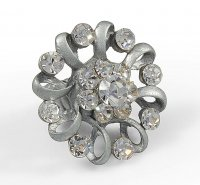 ANEL FLOR GRANDE Ref. 120493 - <strong>Crystal</strong>