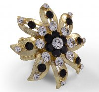Anel flor 120874 - <strong>Crystal</strong>