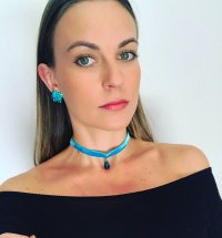 CHOKER REF. 170864 - <strong>Aquamarine</strong>