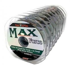 Linha Max Force Fio 0,37mm 100mts