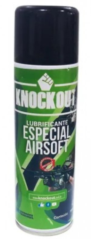 Lubrificante Knockout Especial Airsoft 300ml