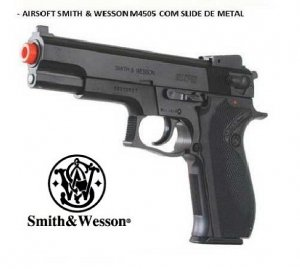 Pistola Airsoft Smith & Wesson Cal 6,0mm
