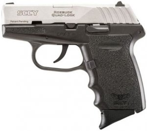 Pistola SCCY CPX-3 Inox Cal .380mm