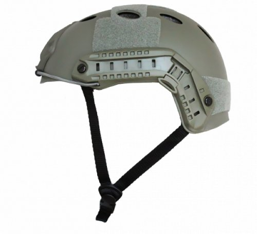 Capacete Airsoft Protecao Emerson Fast Verde