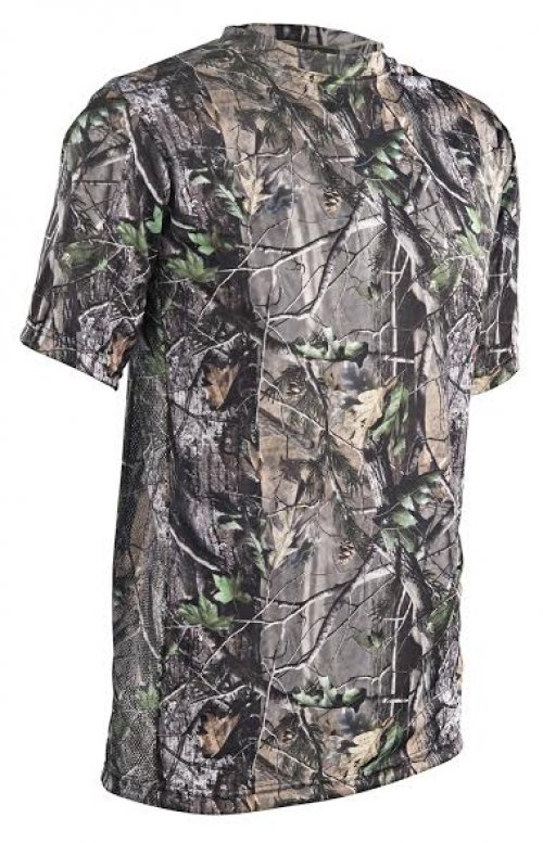 "Camiseta Realtree Manga Curta Dry Fit Tam ""GG"""