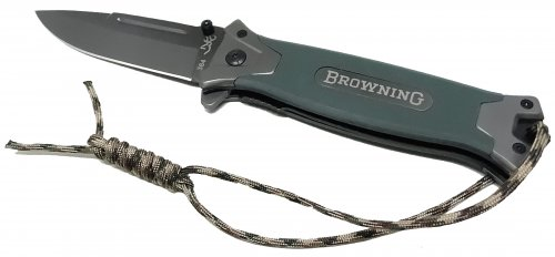 Canivete Browning Outdoor Green Com Cordame