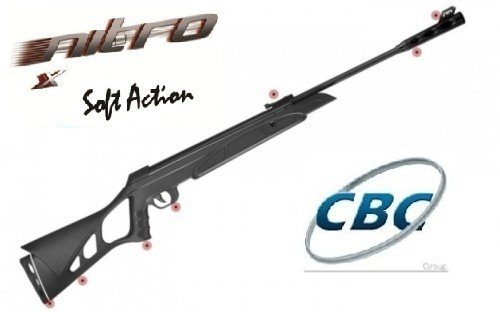 Carabina CBC Nitro X 900 Soft Action Oxidada Cal 5,5mm