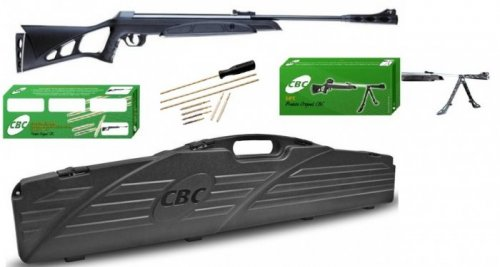 Carabina de Pressão CBC F22 Nitro-X 1000 5,5MM – Kit Limited