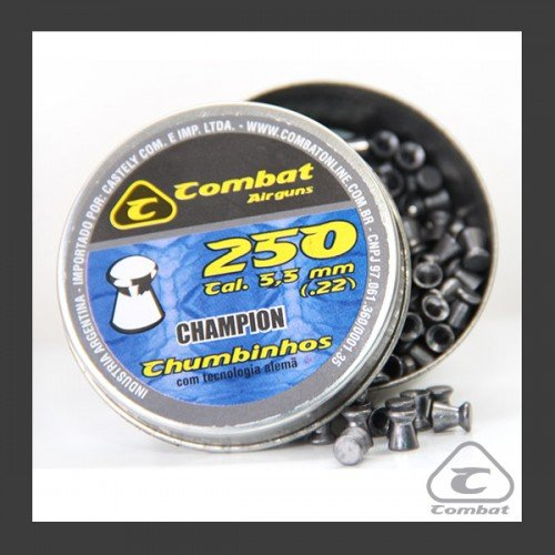 Chumbinho Combat Champion 5,5mm