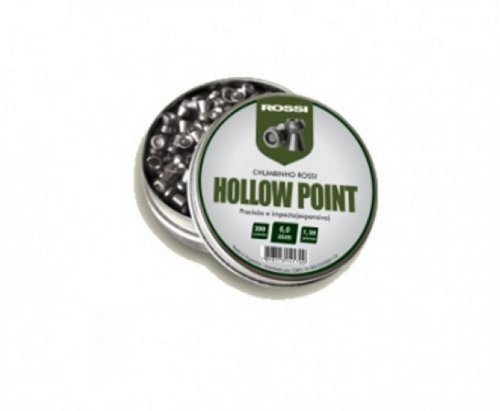 Chumbinho Rossi Hollow Point 1,20gr 6,0mm