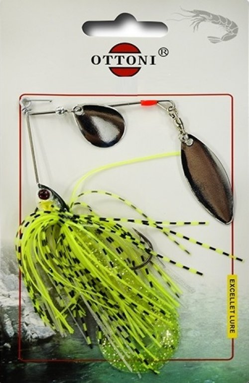 Isca Artificial Spinner Bait Flash Reflex Sortida