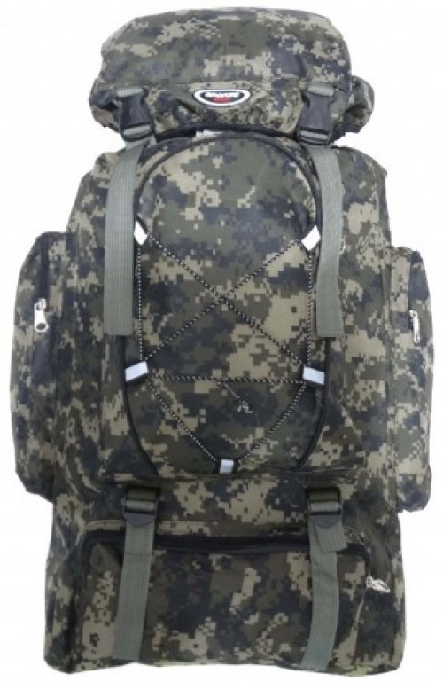 Mochila Camuflada Digital Sports Fashion Regulavel