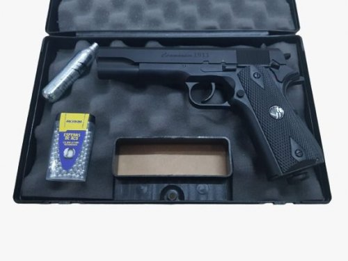 Pistola Co2 Commander 1911 W125B Wingun 4.5mm