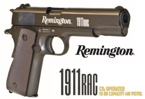 Pistola Pressão CO2 Remington 1911 RAC Cal 4,5mm