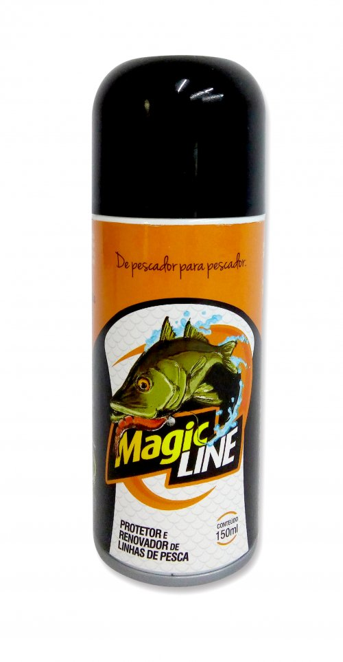 Protetor Renovador de Linhas Pesca Spray Spray Magic Line 150ml