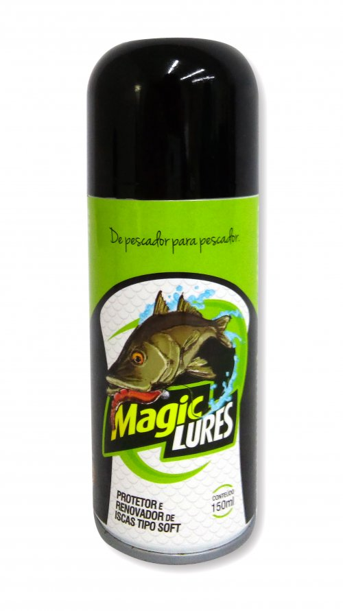 Protetor Renovador Iscas Tipo Soft Spray Magic Lures 150ml