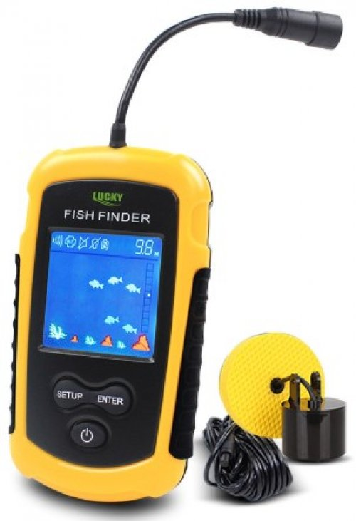 Sonar Portatil Fish Finder Lucky Original