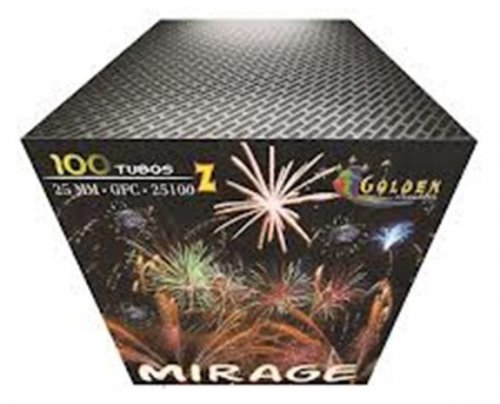 Torta Mirage 100 Tubos Inclinada