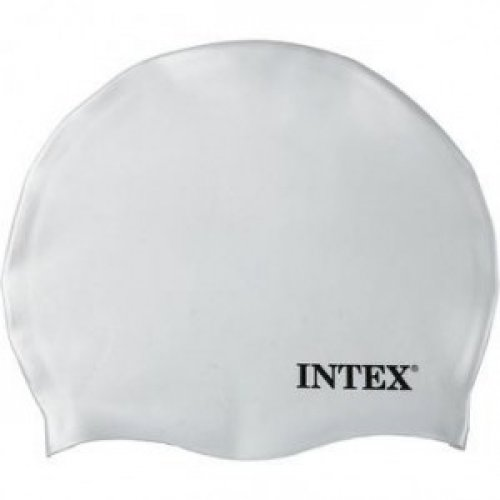 Touca de Silicone INTEX Branca