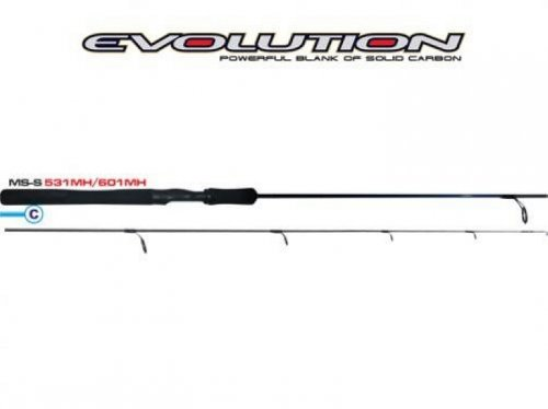 Vara Pesca Carbono Evolution MS S601MH 1,83mts