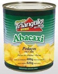 10464 - ABACAXI PEDACOS 400G TRIANGULO MINEIRO