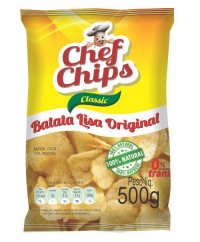 10907 - BATATA FRITA LISA 500G CHEF CHIPS PROMO