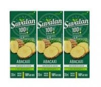 11148 - SUCO 200ML 100% ABACAXI S/ACUCAR SUVALAN